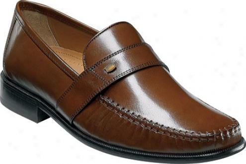 Florsheim Jemison (men's) - Cognac Buffalo Leather