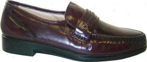French Shriner Dqyton Ii (men's) - Burgundy Leather