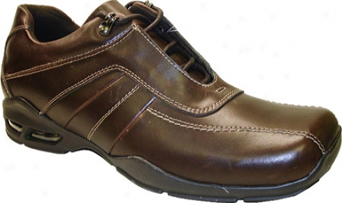 Gbx 13319 (men's) - Brown Burnished Action Leather