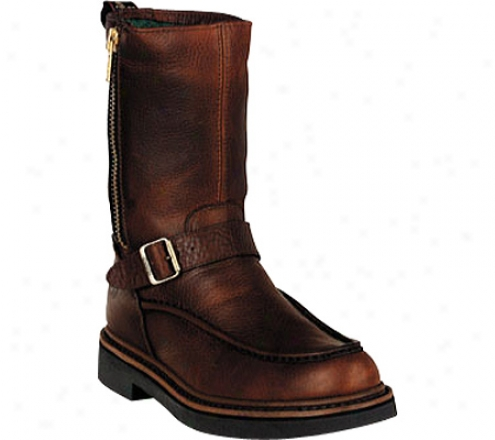 Georgia Boot G41 Waterproof Side Zip Moc Toe Wellington (men's) - Copper Kettle Sogg yLeather