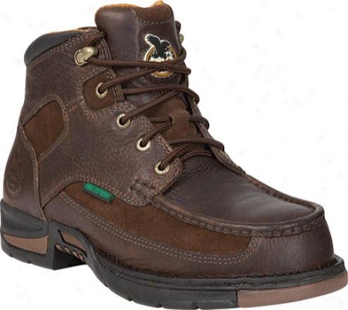 """georgia Boot G6194 6"""" Athens Moc-to e(men's) - Brown"""