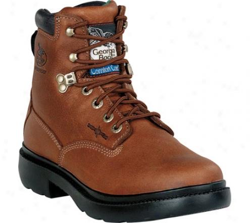 """georgia Boot G6503 6"""" Renegades Flex Point (men's) - Briar Brown"""