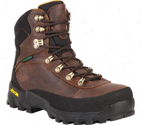 Georgia Boot G6613 Crossridge Hiker Steel Toe (men's) - Dark Brown