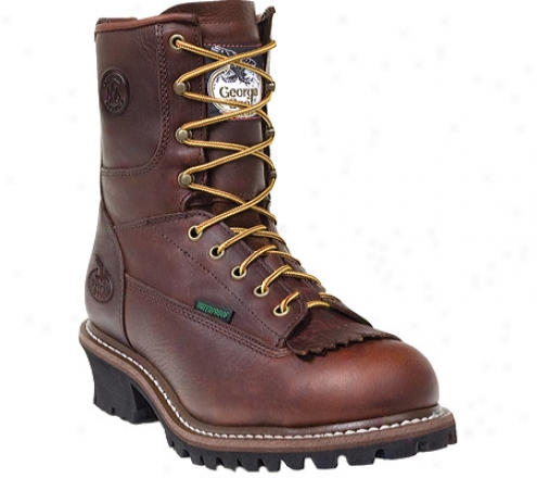 Georgia Profit G7313 Protective Toe Work Boot (men's) - Brown
