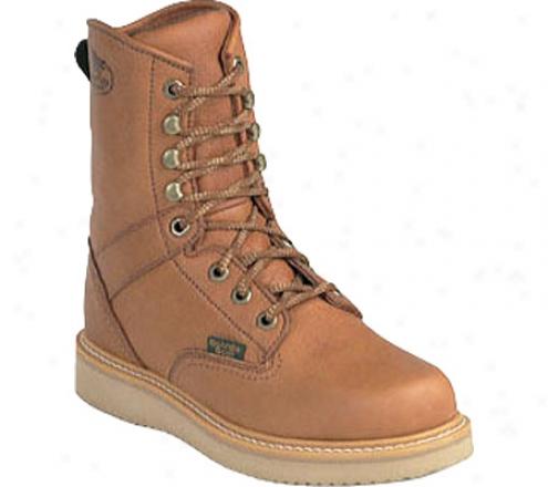 """georgia Boot G81 8"""" Wedge Boot (men's) - Gold Coast Barracuda Spr Leather"""