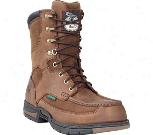 """georgia Boot  G9453 Athens 8"""" Moc-toe (men's) -  Brown"""