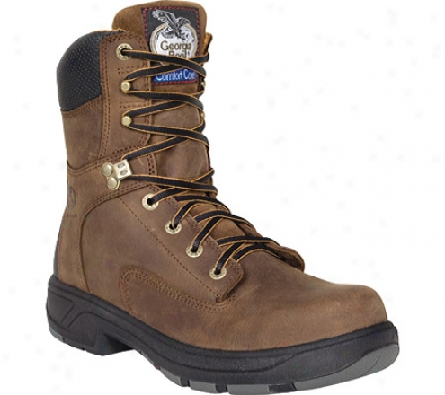 """georgia Boot G9644 Flxpoint Composite Toe 8"""" (men's) -  Brown"""