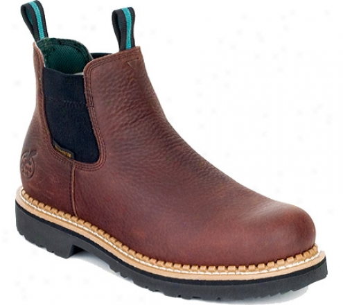 Georgia Boot Gr530 High Romeo Steel (men's) -  Soggy Brown