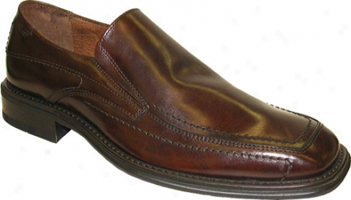 Giorgio Brutini 17346 (men's) - Castagno Language of Italy Leather