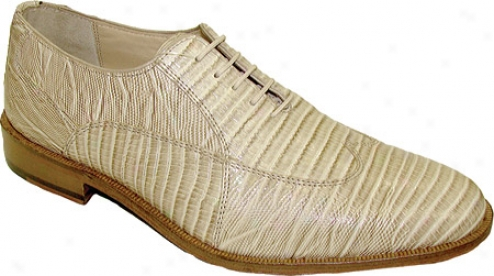 Giorgio Brutini 21007 (men's) - Beige Croco Print Leather