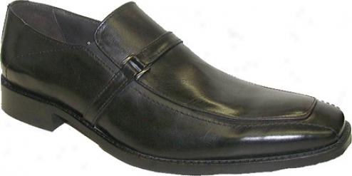 Giorgio Brutini 24966 (men's) - Black Pisa Leather