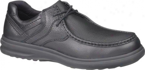 Hush Puppies Burke (men'd) - Black Leather
