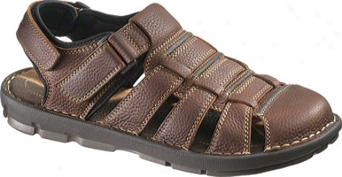 Appease Puppies Cross-shore (men's) - Brown Leather