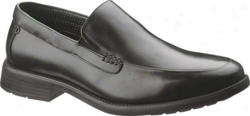 Hush Puppies Emit (men's) - Black Full Grain Leather