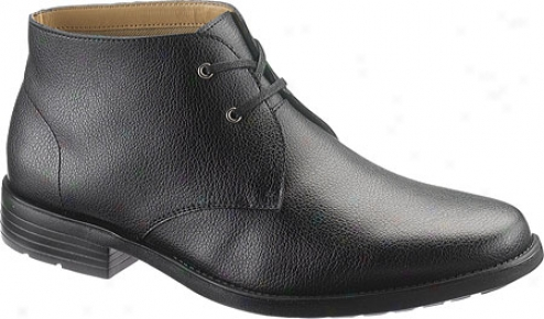 Hush Puppies Hoffman (men'ss) - Black Leather