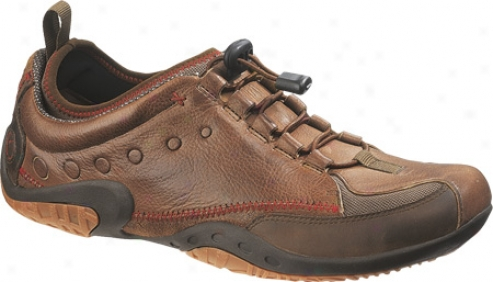 Hush Puppies Inherent (men's) - Brown Leather/suede