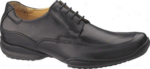 Hush Puppies Luxembourg (men's) - Blak Smooth Leather