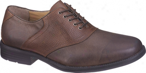 Hush Puppies Pacino (men's) - Brown/red Brown Leather