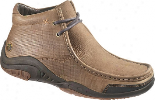 Hush Puppies Relevance (men's) - Dark Taupe Nubuck