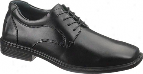 Hush Puppies Winsted (men's) - Black Leather