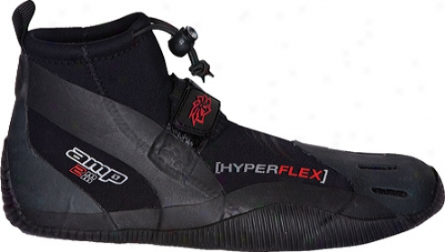Hyperflex Wetsuits 2mm Amp Low Reef Boot - Black