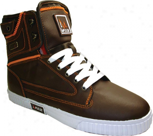 Impulse P1273 (men's) - Brown Gesticulation Leather/nylon
