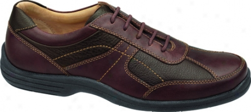 Johnston & Murphy Cammon Athletic (men's) - Mahogany/dark Brown Full Geain