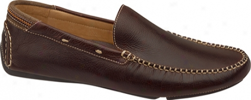 Johnston & Murphy Hembree Venetian (men's) - Brown Tumbled