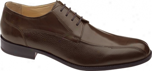 Johnsto n& Murphy Newell Rjnoff Lace-up (men's) - Brown Calfskin/deerskin