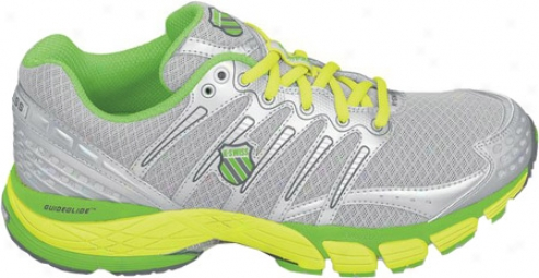 K-swiss Keahou Ii R (men&#039;s) - Silver/neon Lime/optic Yellow