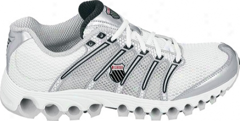 K-swiss Tubes Run 190 A (men's) - White/silver/black