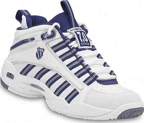 K-swiss Ultrascendor Mid (men's) - White/navy/silver