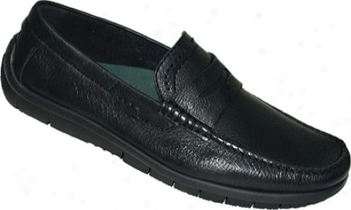 Kalso Earfh Shoe Penn (men's) - Black Butter Calf