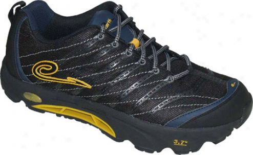 Kalso Earth Shoe Rebound-k (men's) - Black Microfiber