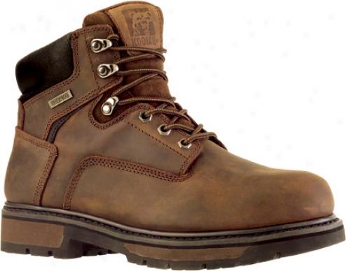 Kodiak Ballinger Pt (413005) (men's) - Rich Brown Waterproof Crazy Horse Leather