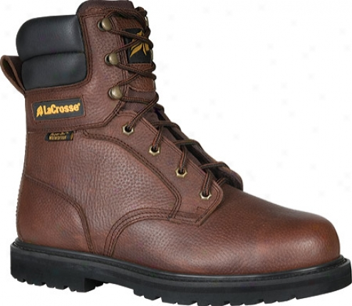 """lqcrosse 8"""" Foreman Hd (men's) - Brown"""