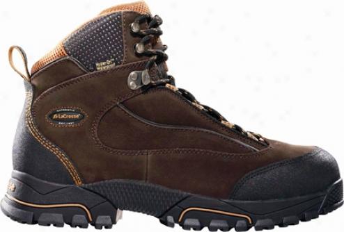"""lacrosse Gridline Hd 6"""" Plain Toe (men's) - Brown"""