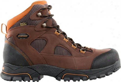 """lacrosse Gridline Hd 6"""" Safety Toe Met Guard (men's) - Brown"""