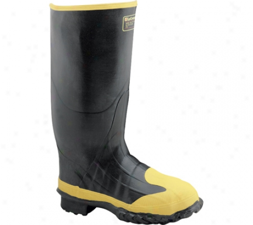 """lacrosse Industrial 16"""" Meta-boot (men's) - Black/yellow"""