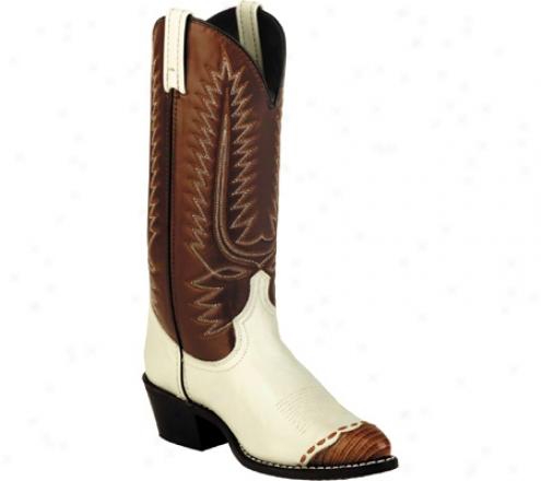 Laredo Claxsic Cowboy Lizard Wingtip 13 (men's) - Bone