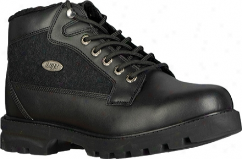Lugz Brigade Clip (men's) - Black Leather