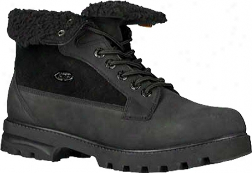 Lugz Brigade Fold (men's) - Black Leather