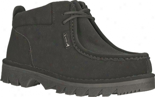 Lugz Fringe (men's) - Black Durabrush