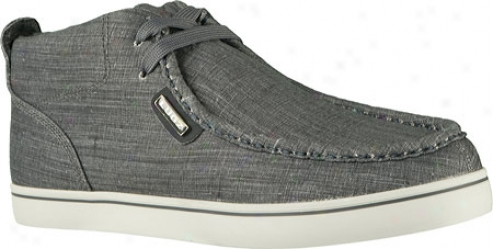 Lugz Strider Chambray (men's) - Navy/glacier/multi-grey Canvas