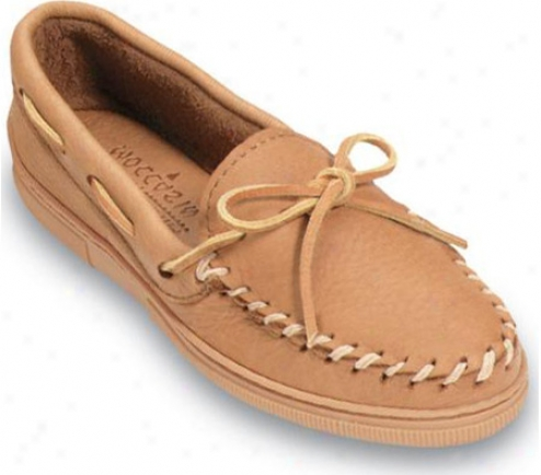 Minnetonka Straight Plug (men's) - Tan