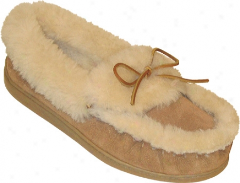 Minnetonka Ultimate Sheepskin Slipper (men's) - Tan