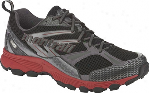 Montrail Badrock Outdry (men's) - Black/red