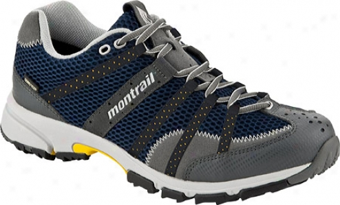 Montrail Mounatin Masochist Gtx (men's) - Navy/sunshine