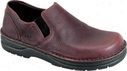 Naot Eger (men's) - Textured Chocolate Leather