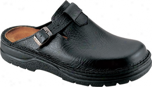 Naot Fiord (men'x) - Textured Black Leather